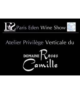 """Atelier Privilège """"Verticale Roses Camille"""" (entrée salon offerte)"""