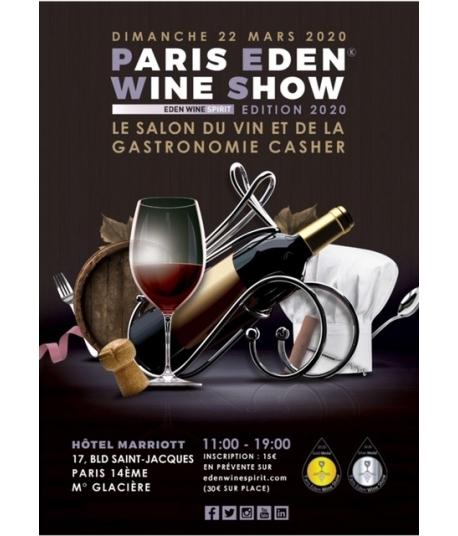 Paris Eden Wine Show (22 Mars 2020)